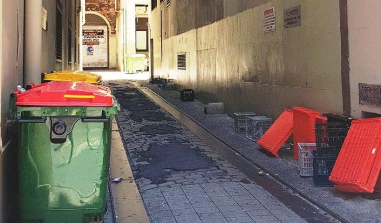 Sydney CBD Laneway Easement