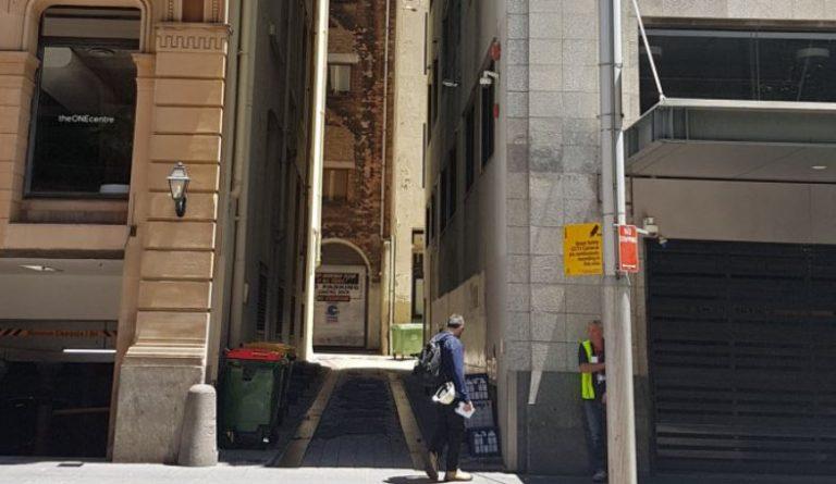 Stoush Over Sydney CBD Laneway