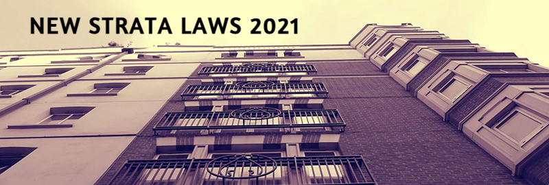 New NSW Strata Laws 2021